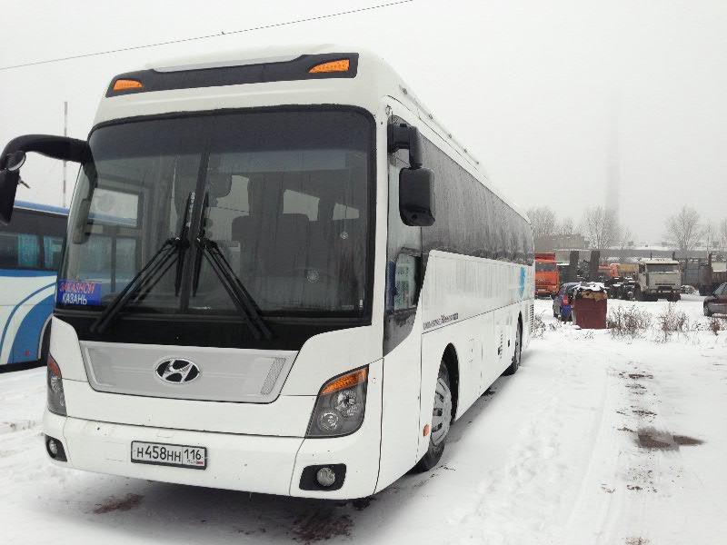 аренда автобуса Hyundai Universe в Казани