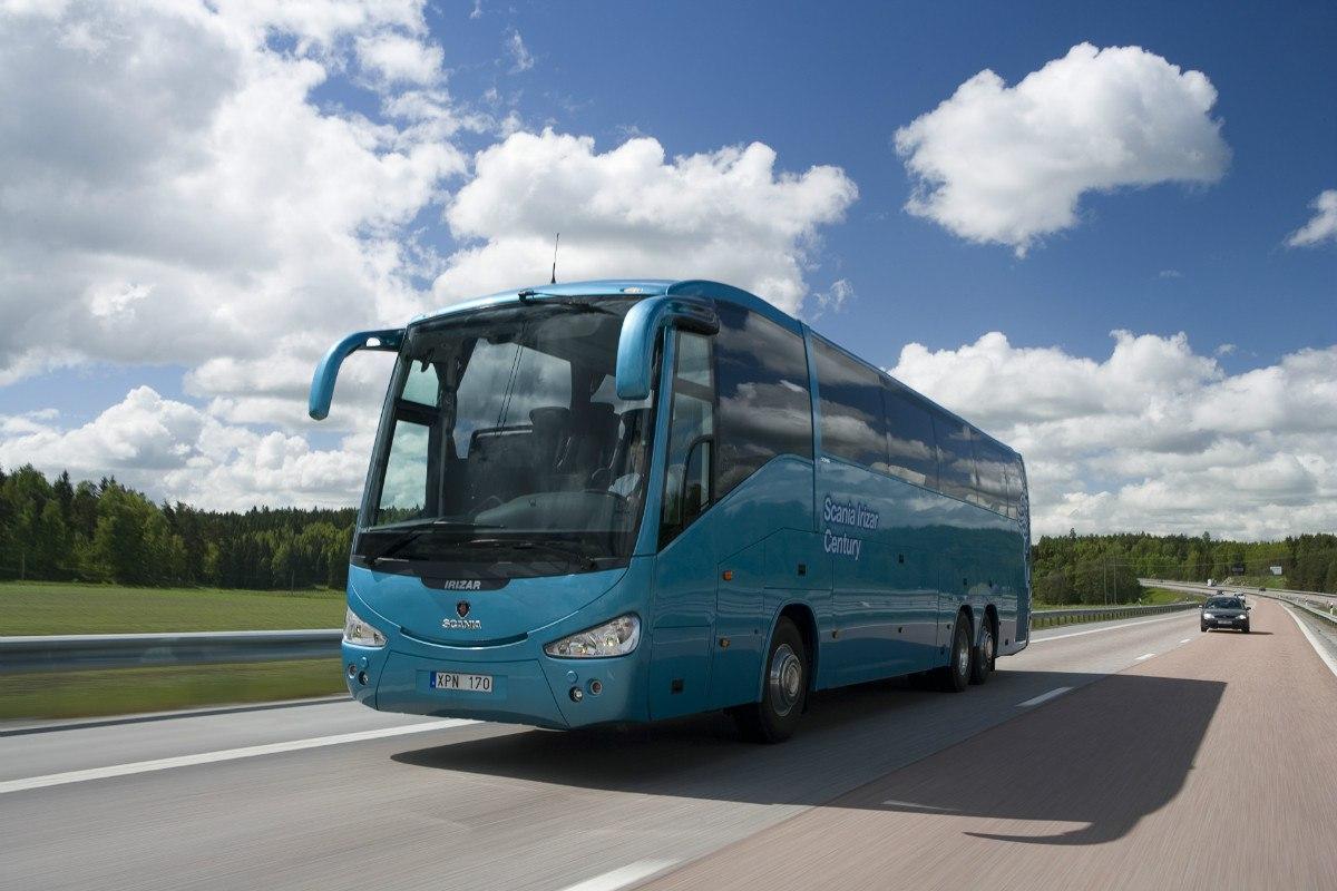 перевозка пассажиров автобусом
